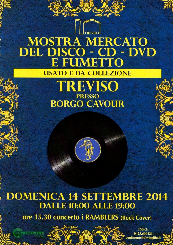 Mostra del disco a Treviso